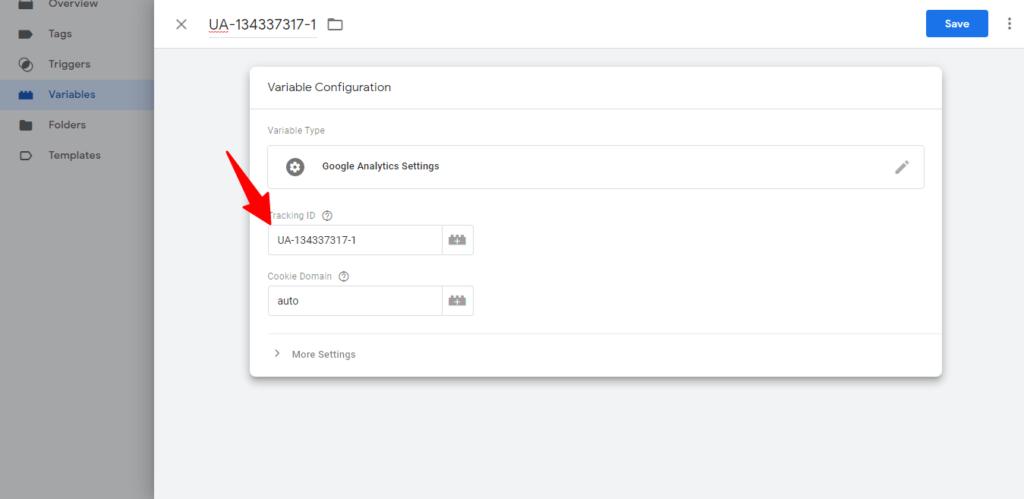 create user define variable